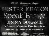 the first talking movie with buster keaton
